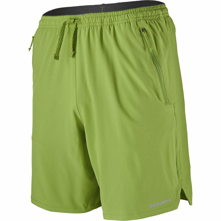More Mile Active 9 Inch Mens Running Shorts Black