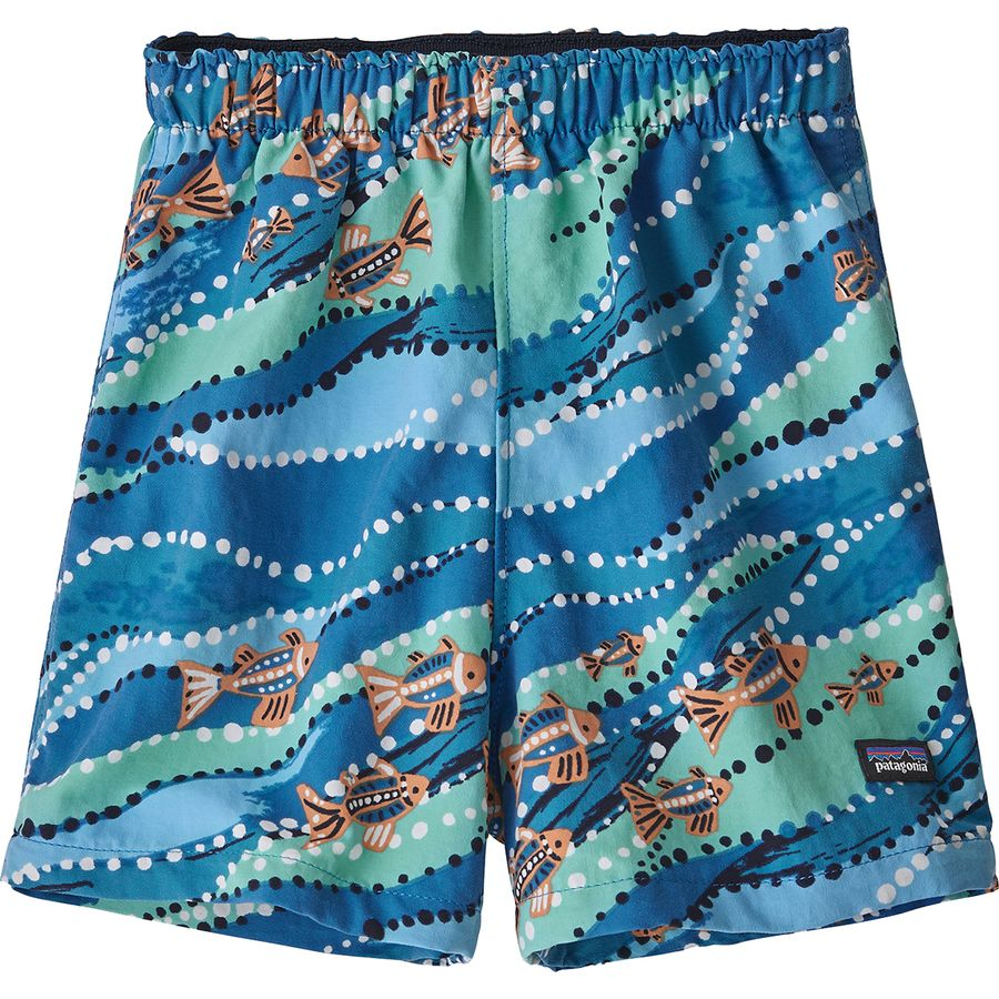 167c1d9348 Patagonia - Baggies Short - Toddler Boys' - Bell Bay/Port Blue
