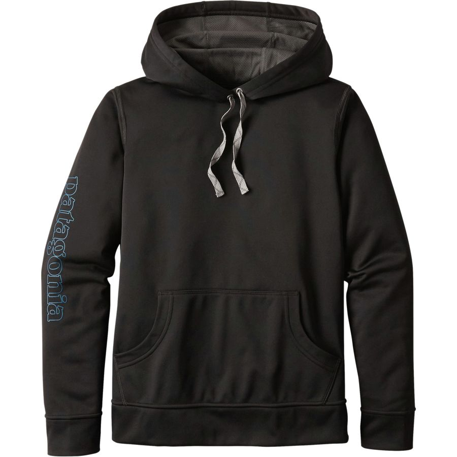 Patagonia Outline Text Logo Polycycle Hoodie - Womens