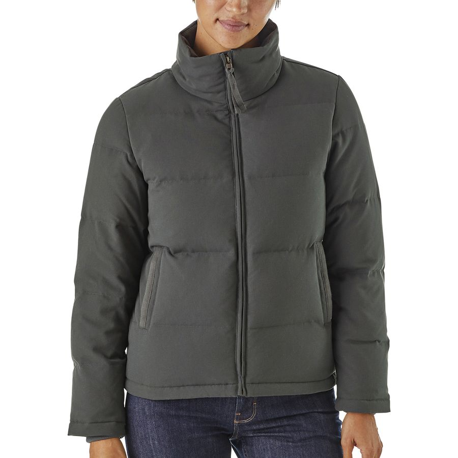 Patagonia - Bivy Down Jacket - Women s - Forge Grey d27e32117