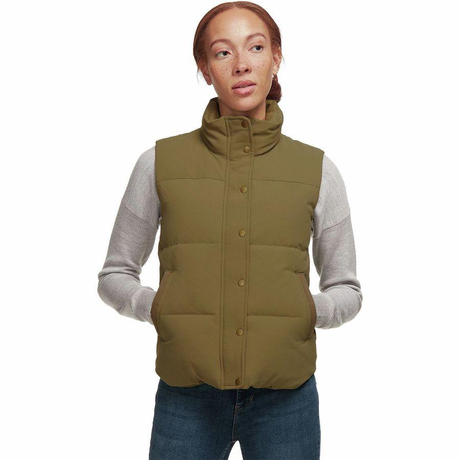 3ae1789e35d Patagonia - Bivy Vest - Women's - Fatigue Green