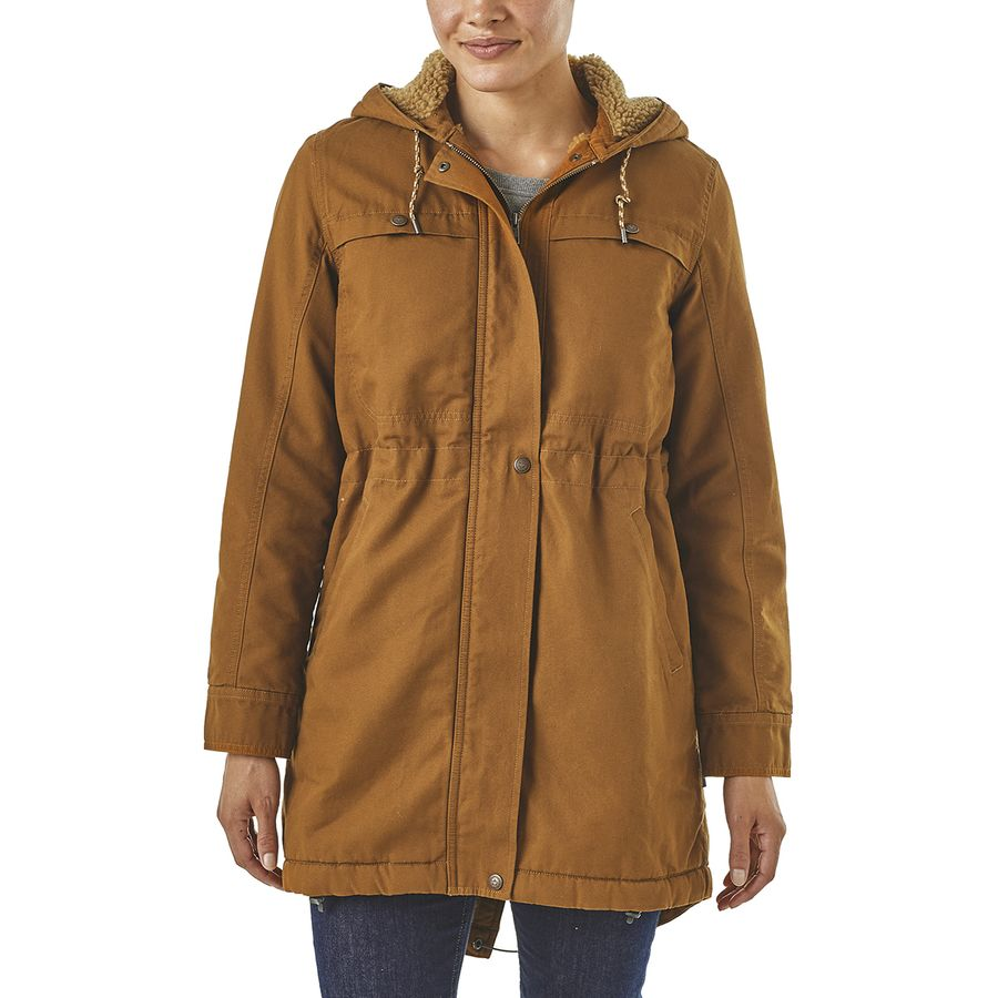 Patagonia - Prairie Dawn Insulated Parka - Women s - Bence Brown 2845f24a02