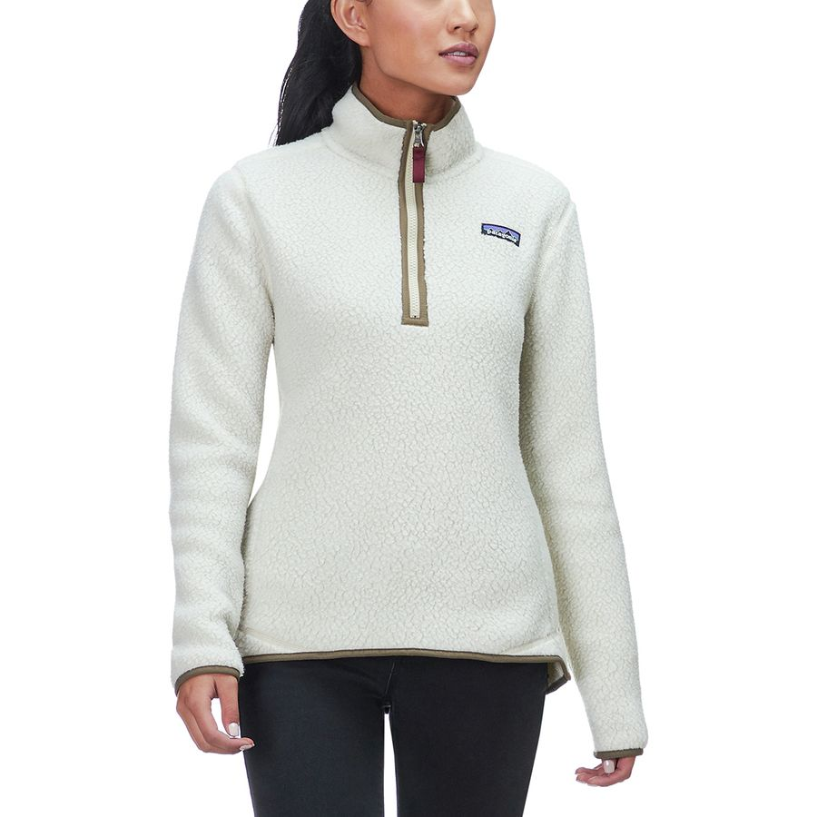 Patagonia - Retro Pile 1 4-Zip Fleece Jacket - Women s - Pelican 5b061c159