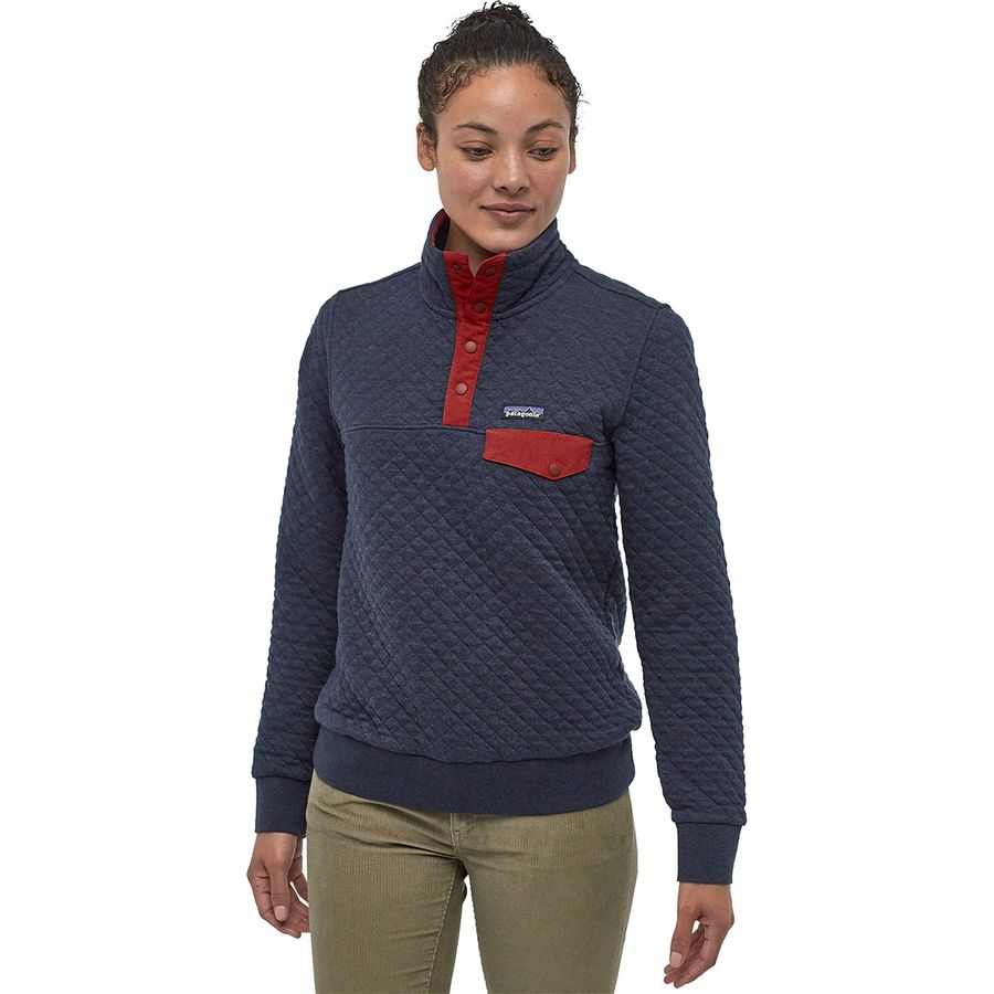 Patagonia Organic Cotton Quilt Snap T Pullover Sweatshirt