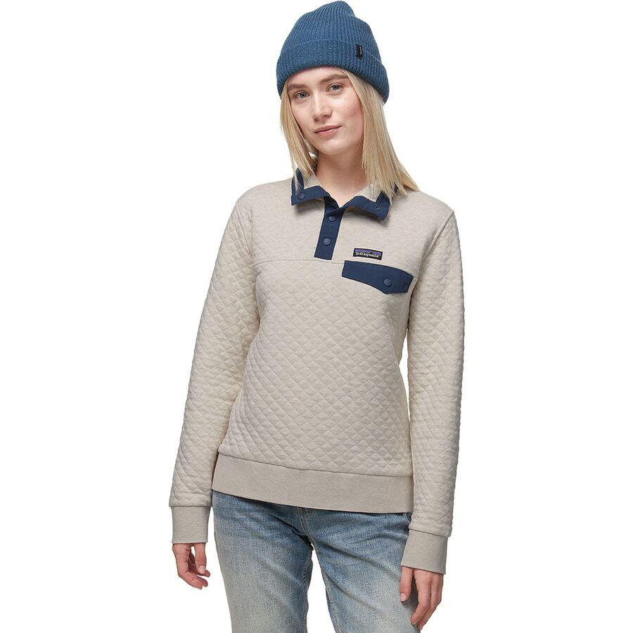 Patagonia Organic Cotton Quilt Snap T Pullover Sweatshirt
