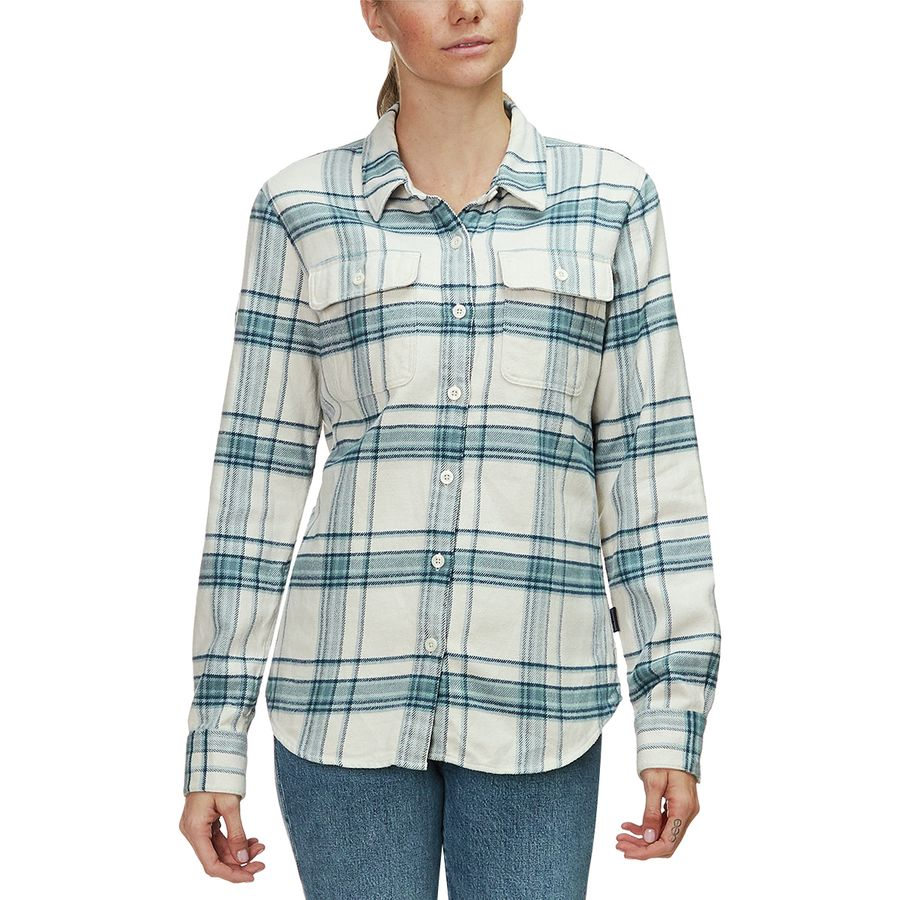6de5b6b56cb Patagonia Fjord Long-Sleeve Flannel Shirt - Women s