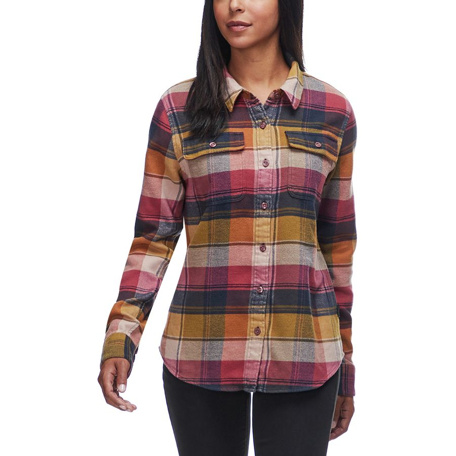 03a29aa91fe Patagonia Fjord Long-Sleeve Flannel Shirt - Women s
