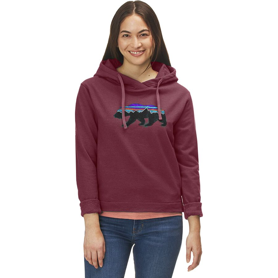 Patagonia - Fitz Roy Bear Uprisal Hoodie - Women s - Rocky Red 050f84de5bb