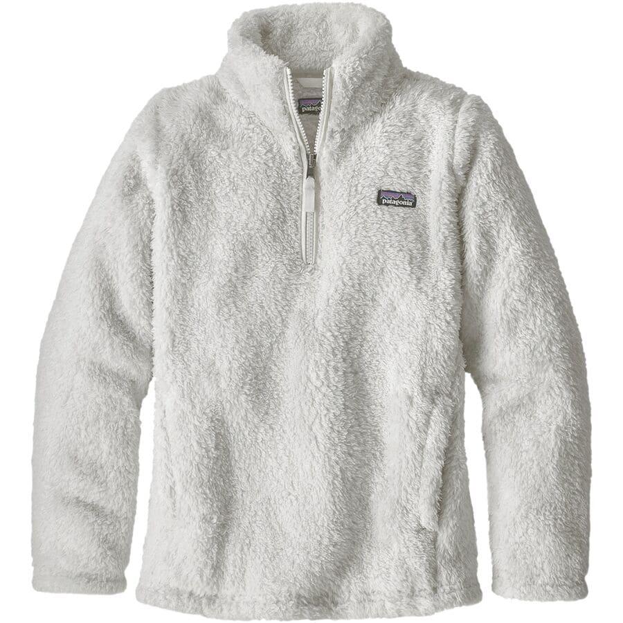 7d92e5c1c83b0 Patagonia - Los Gatos 1 4-Zip Jacket - Girls  - Birch White