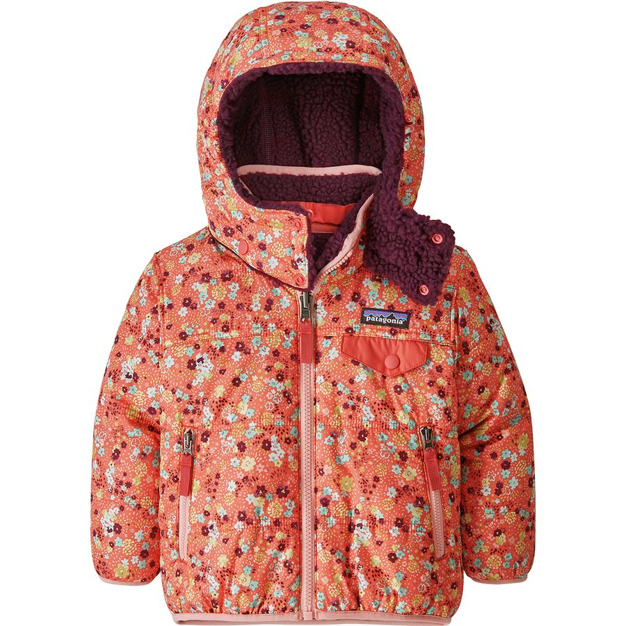 7e18eeb4e Patagonia Reversible Tribbles Hooded Jacket - Toddler Girls ...