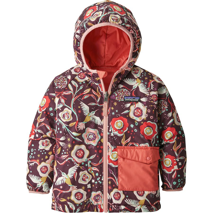 8b4d5d5d67e8 Patagonia - Puff-Ball Reversible Jacket - Toddler Girls  - Bee Eaters And  Vines