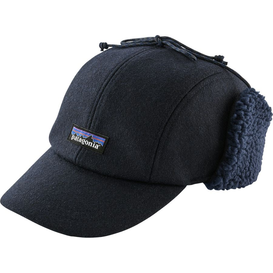 Patagonia - Recycled Wool Ear Flap Cap - Men s - Classic Navy 47c1d24af7f