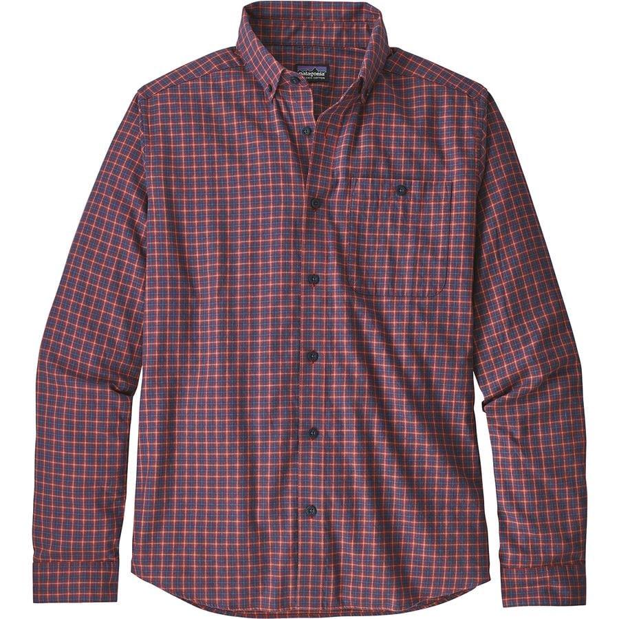 Patagonia - Vjosa River Pima Long-Sleeve Cotton Shirt - Men s - Endless New a5982a17c87