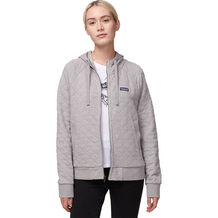 6cdd140f3205d Patagonia Organic Cotton Quilt Hooded Jacket - Women's