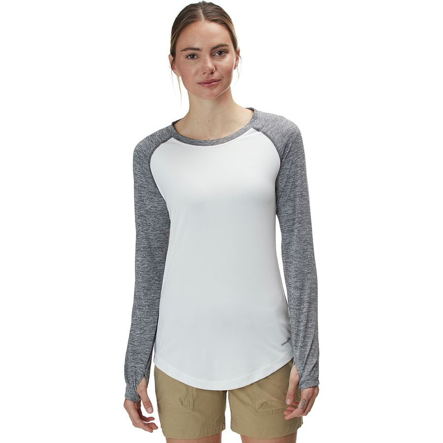 038ff4db73 Patagonia - Tropic Comfort Crew Top - Women's - Landscape Trout/White
