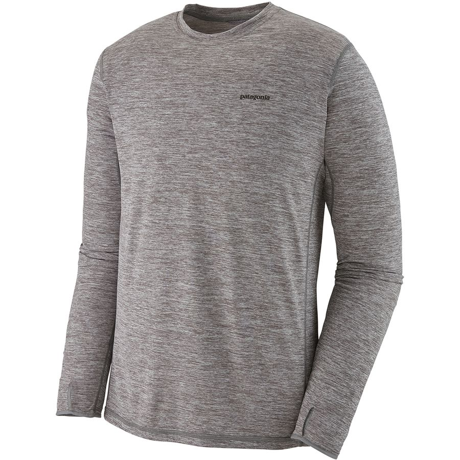 299ef17410ba Patagonia - Tropic Comfort II Long-Sleeve Crew - Men s - Feather Grey