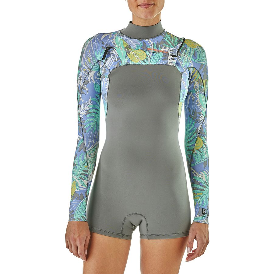 5e287ca09c Patagonia R1 Lite Yulex Front-Zip Long-Sleeve Spring Suit - Women s ...