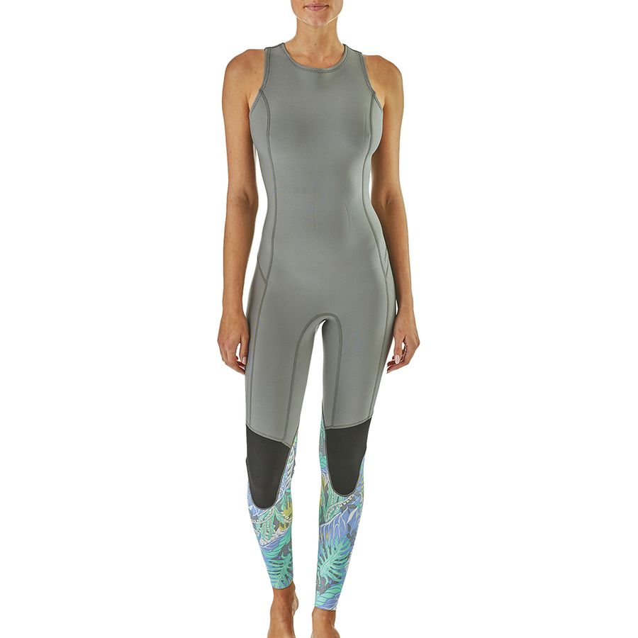 a709505cad Patagonia - R1 Lite Yulex Long Jane Wetsuit - Women s - Jurassic Ferns  Forest Light