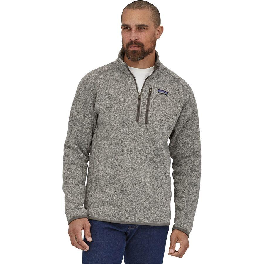 11a0c6ec4 Patagonia Better Sweater 1/4-Zip Fleece Jacket - Men's