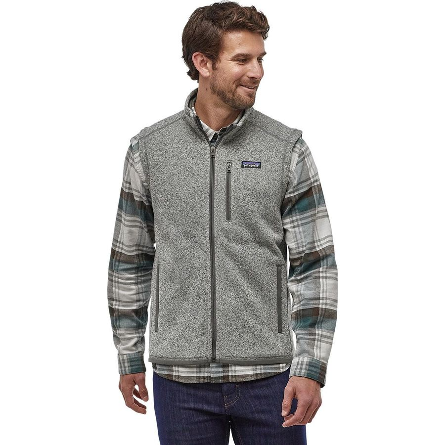Patagonia - Better Sweater Fleece Vest - Men's - Stonewash; holiday gift guide for him