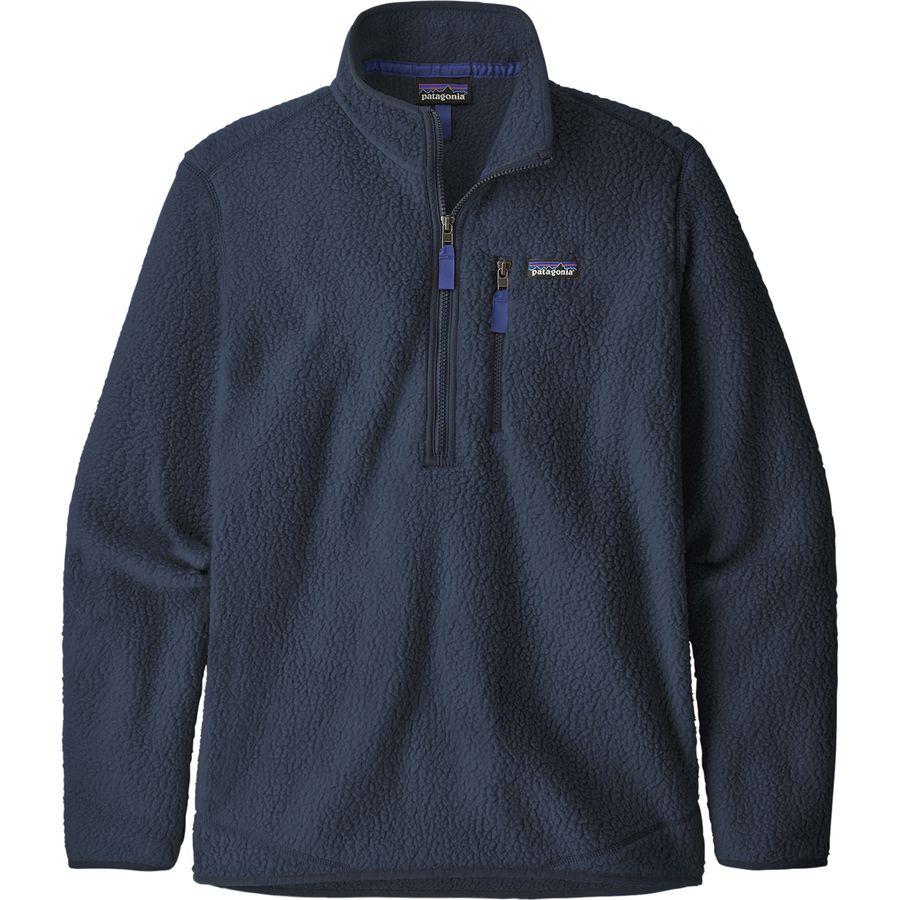Patagonia - Retro Pile Pullover Jacket - Men's - New Navy