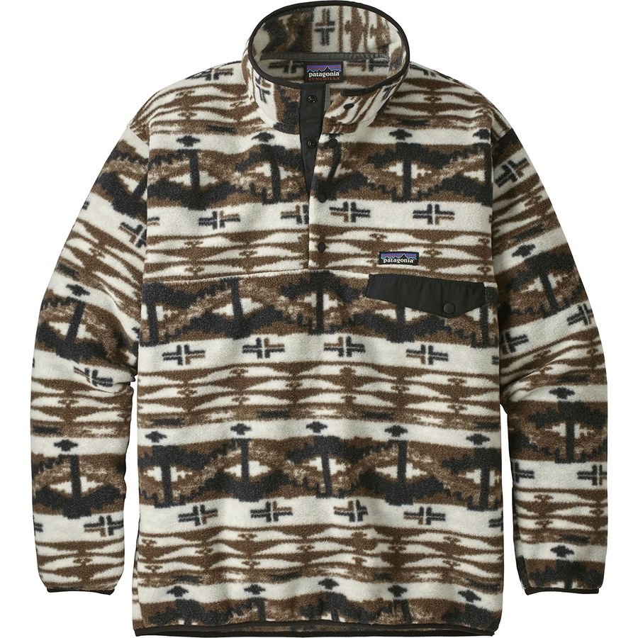 Patterned Patagonia Fleece Simple Decoration