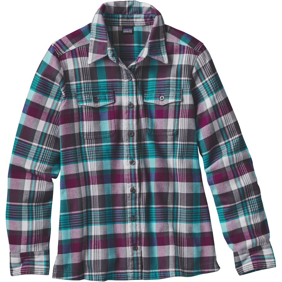 Patagonia fjord flannel shirt women 39 s steep cheap for Where to buy cheap plaid shirts