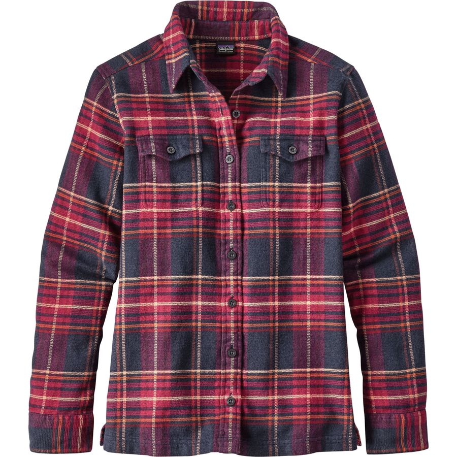 a68ee1d3 Patagonia - Fjord Flannel Shirt - Women's - Big Sky Plaid/Magenta
