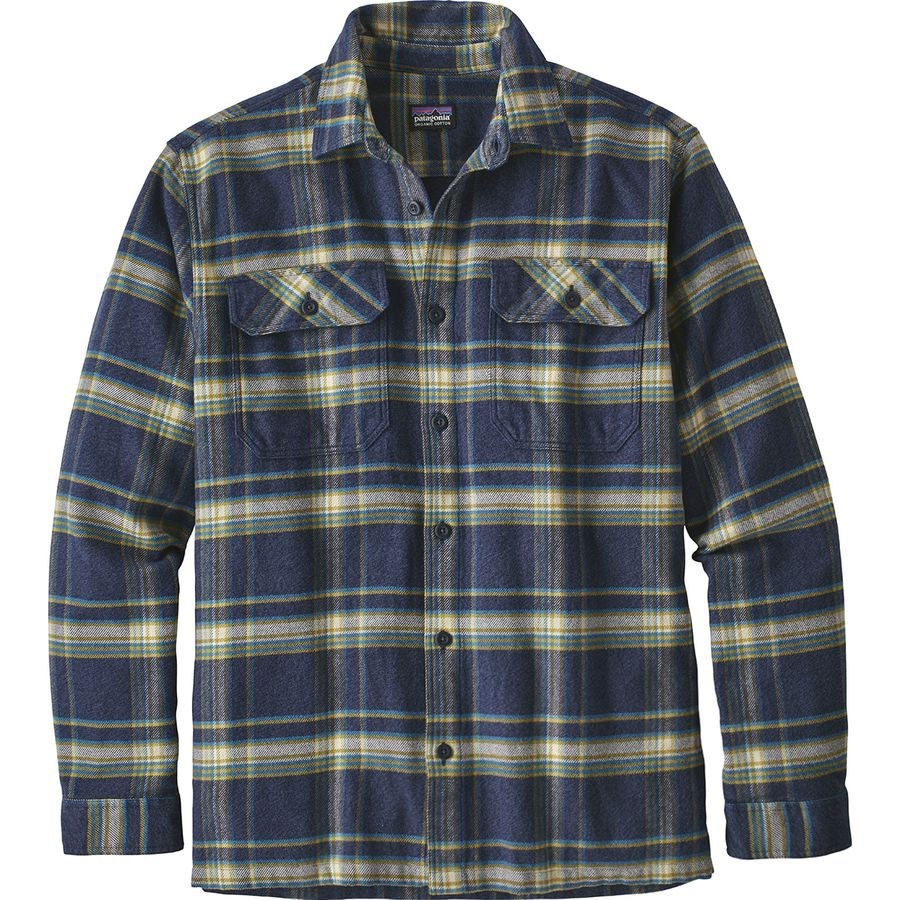 cb2eb036f191 Patagonia - Fjord Flannel Shirt - Men s - Activist Navy Blue