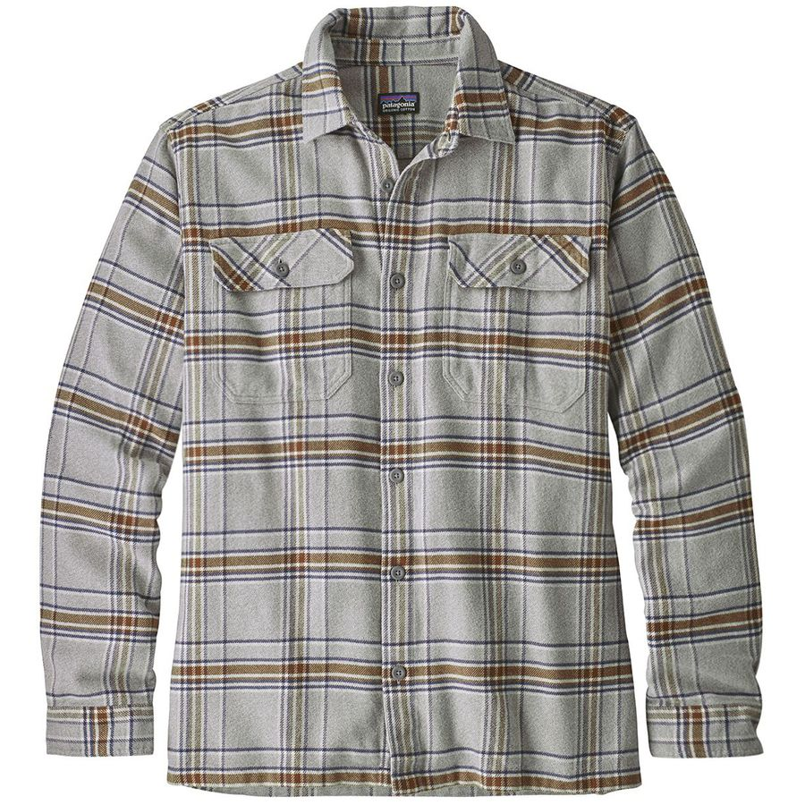 34b50512c Patagonia - Fjord Flannel Shirt - Men s - Activist Feather Grey