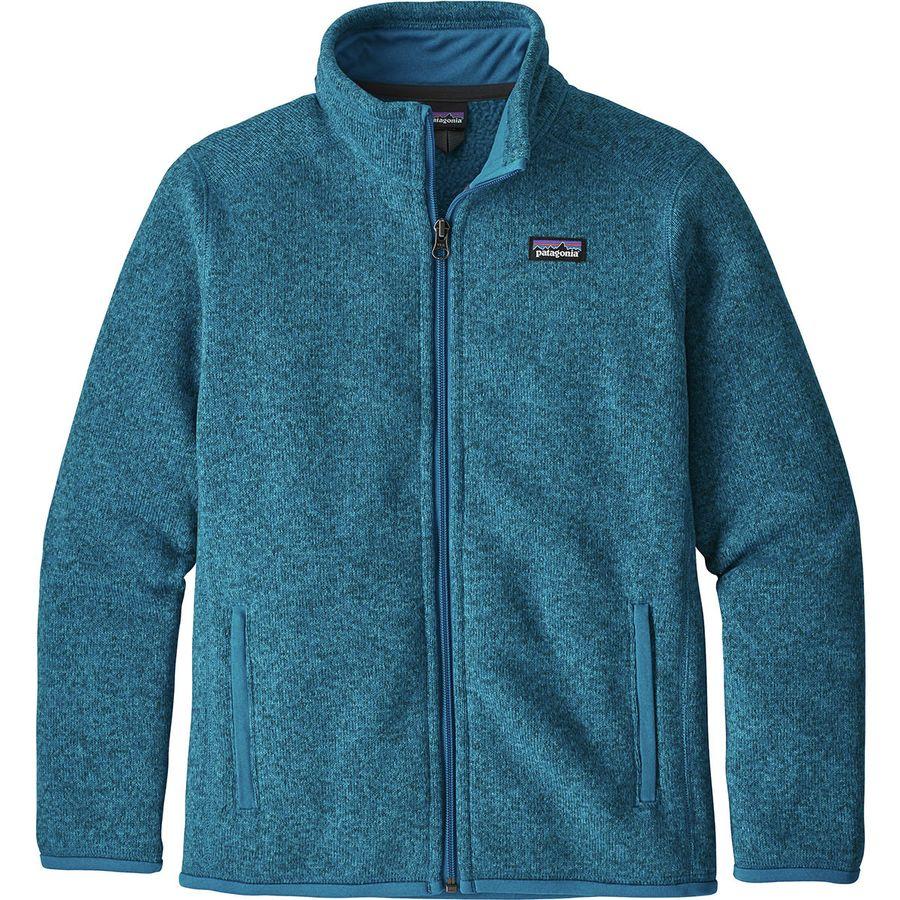 e18251c14 Patagonia Better Sweater Fleece Jacket - Boys