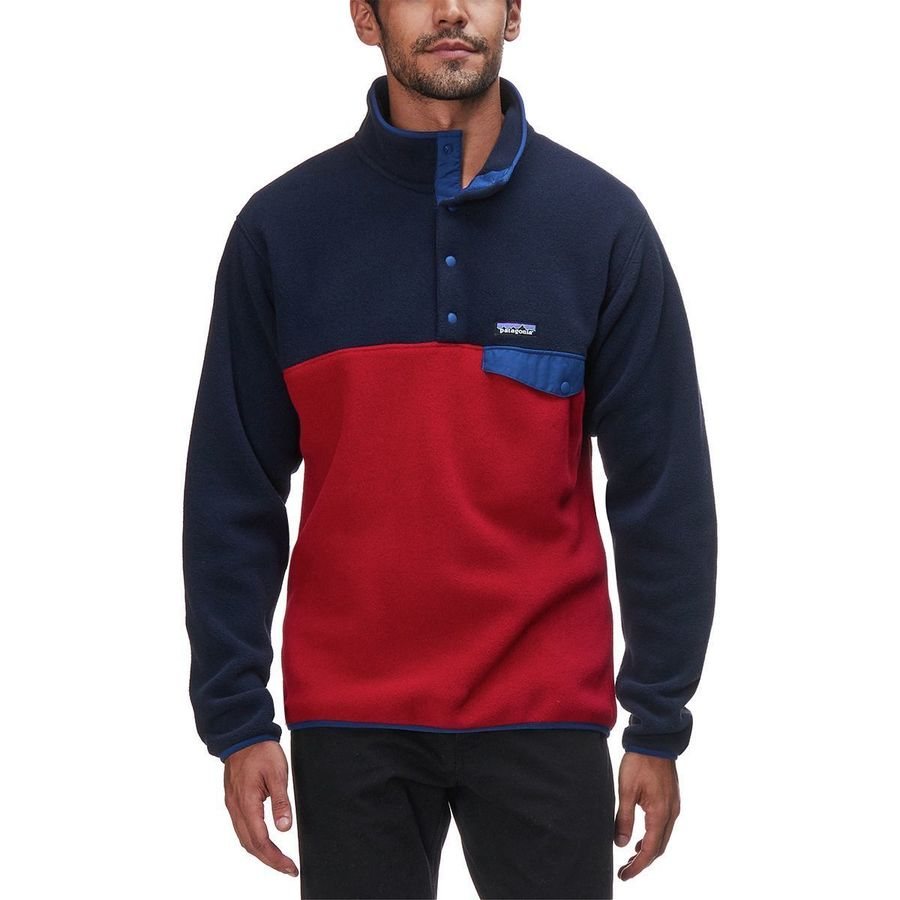 Patagonia Lightweight Synchilla Snap-T Fleece Pullover- Men's ...