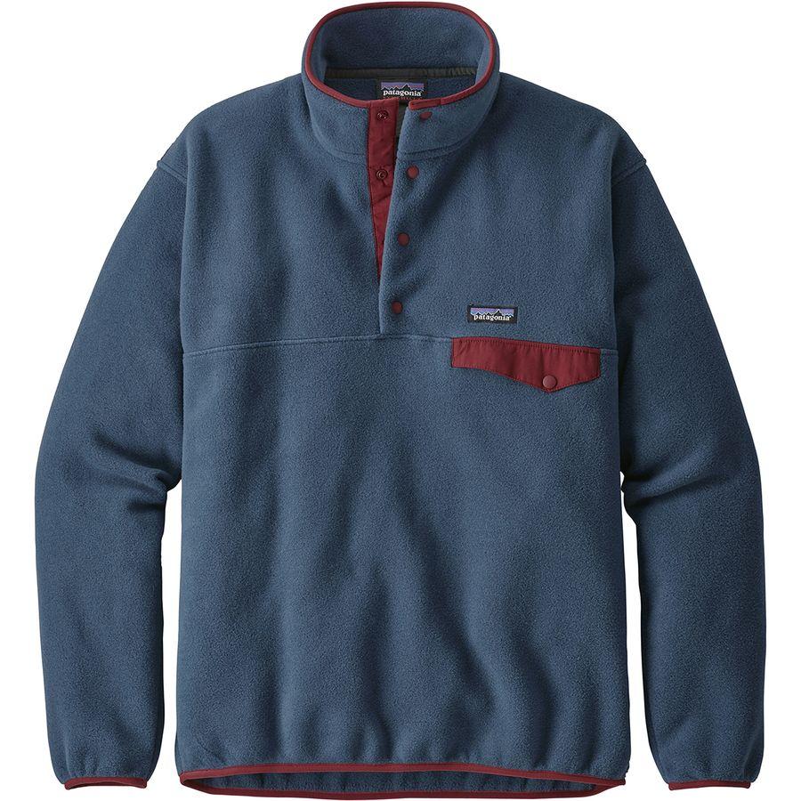 Patagonia - Lightweight Synchilla Snap-T Fleece Pullover- Men s - Stone Blue 20f36bae5890