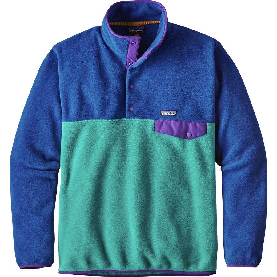 Patagonia Lightweight Synchilla Snap-T Fleece Jacket - Men's ...