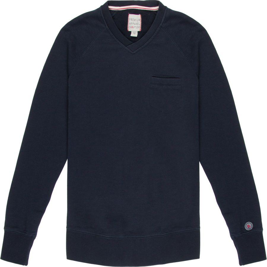 P.A.C. Clothing Country Club V-Neck Sweatshirt - Mens