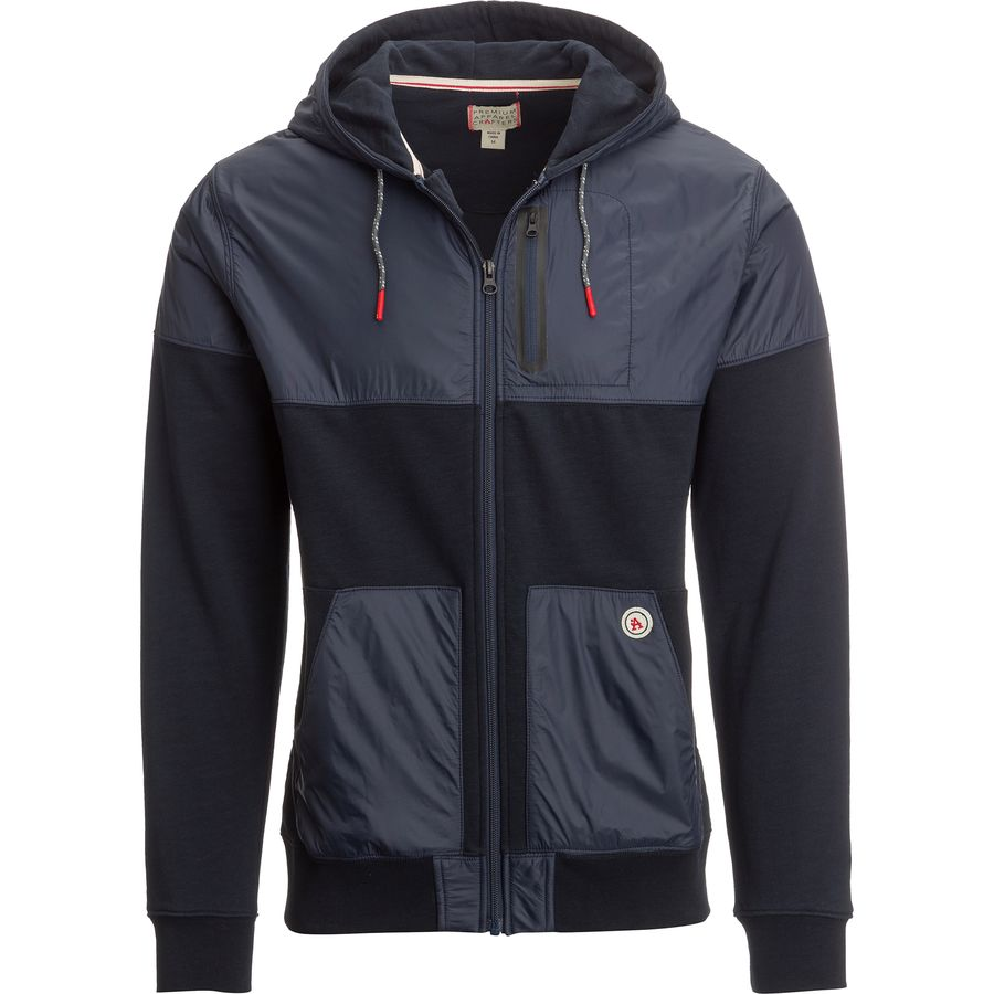 P.A.C. Clothing Traveler Hooded Fleece Jacket - Mens