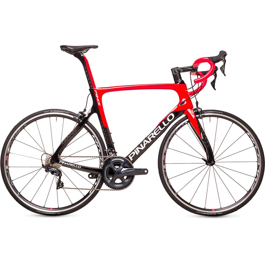 Pinarello - Prince Ultegra Road Bike - 270 Black/Red