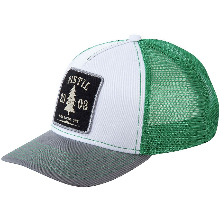 Pistil - Burnside Trucker Hat - Gray 40bcb1c8ccb