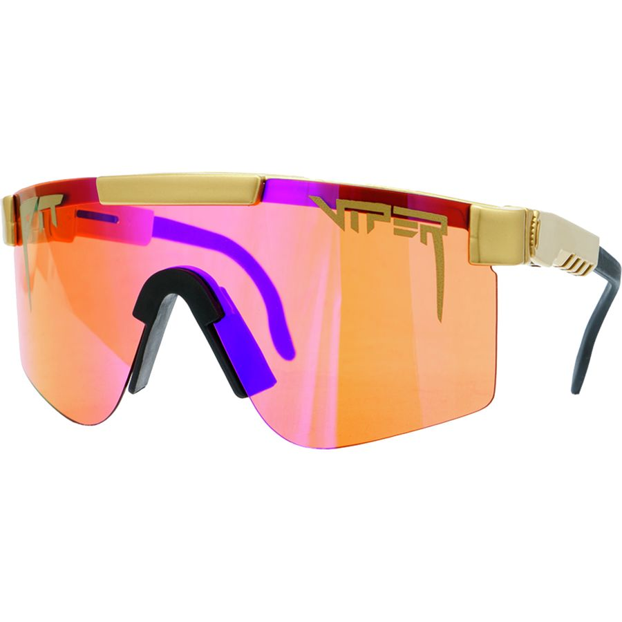 6f93a4f27c Pit Viper - Mirrored Lens Sunglasses - The Crown Royalty (Amber)