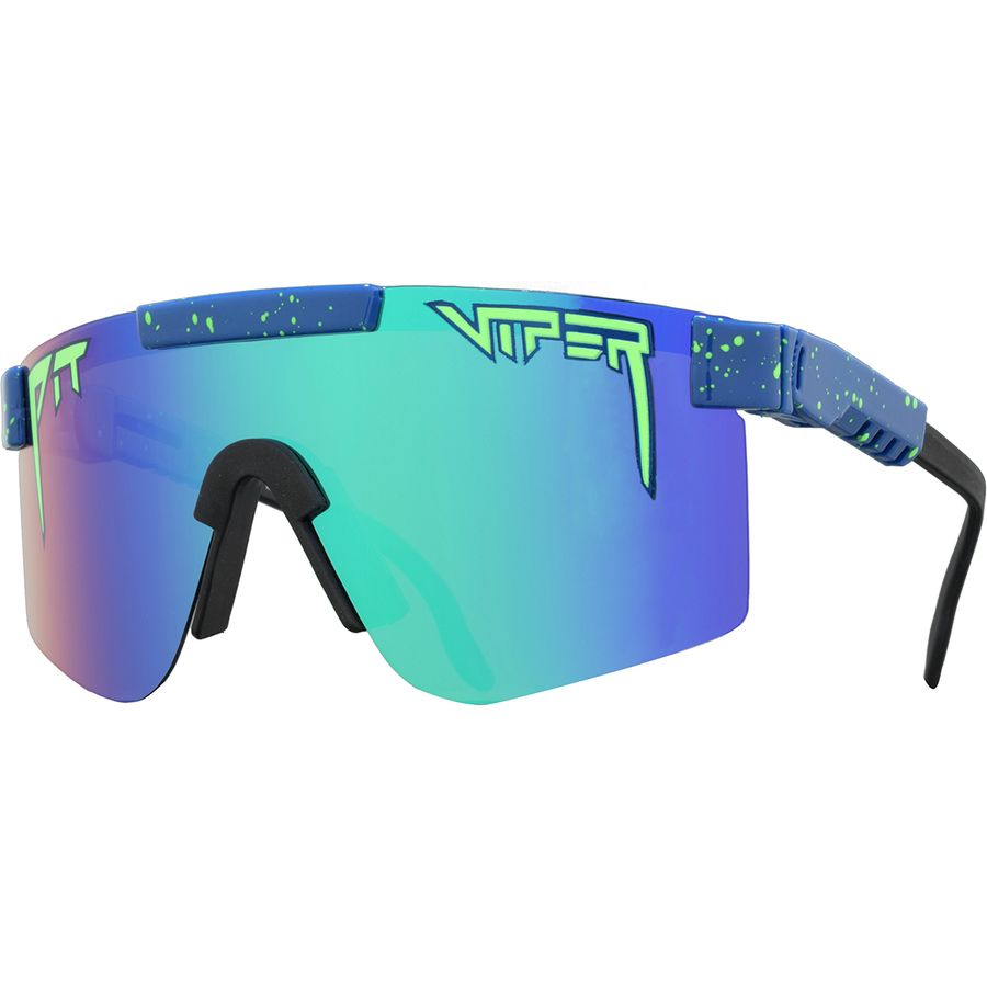 8151653c67 Pit Viper - Polarized Sunglasses - The Leonardo Polarized Revo (Polarized  Blue Green Mirror)