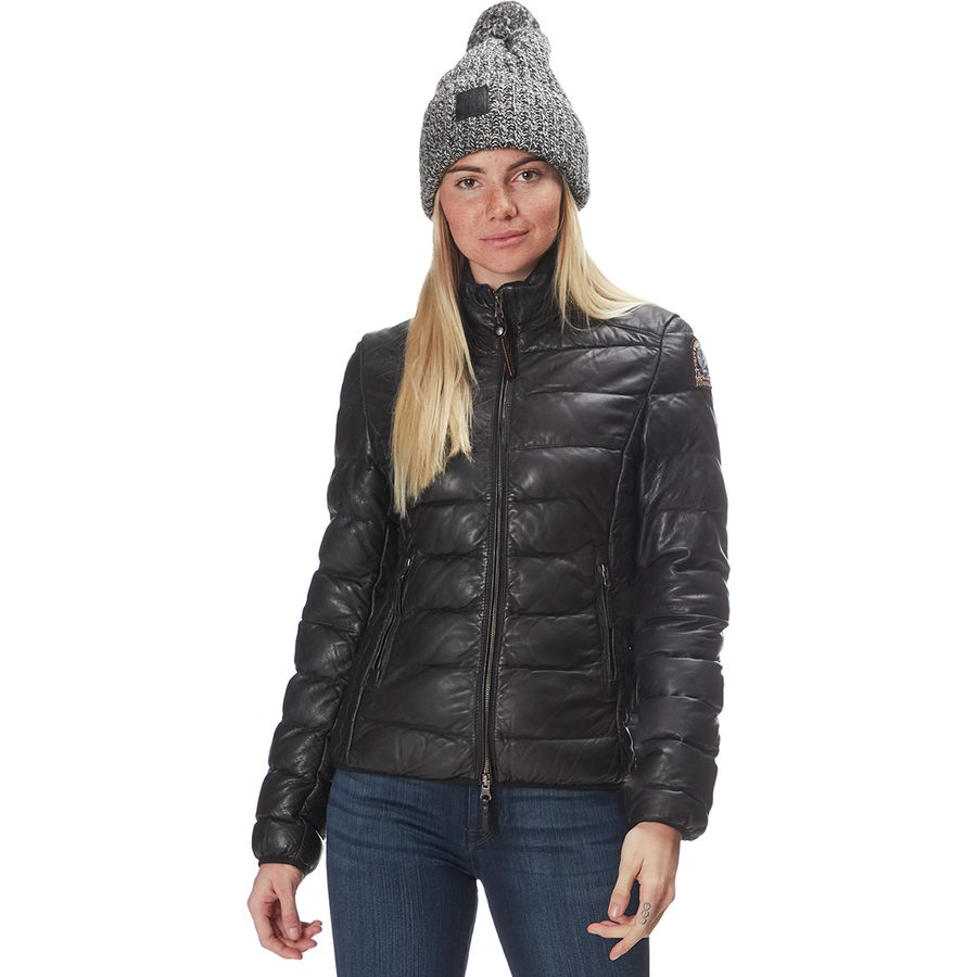 569b91c41 Parajumpers Jodie Leather Down Jacket - Women's