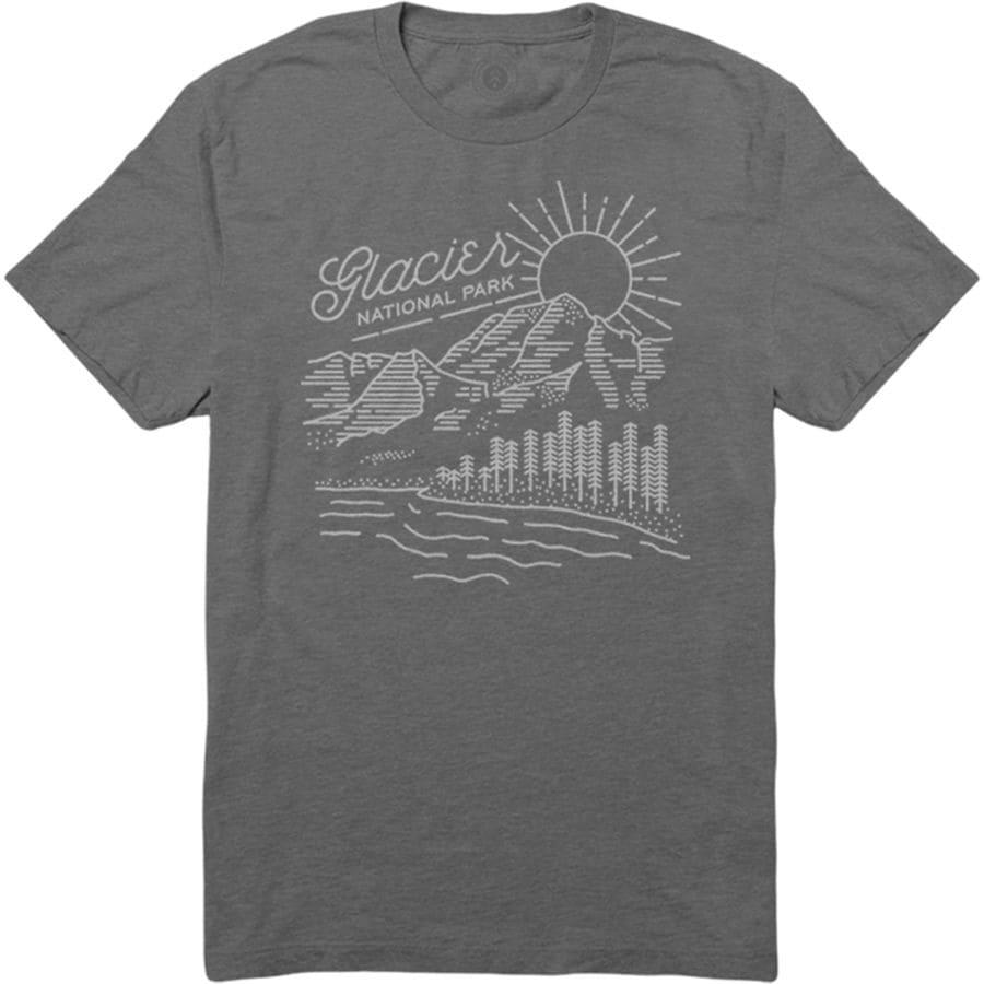 Parks Project Glacier Vista T-Shirt - Mens