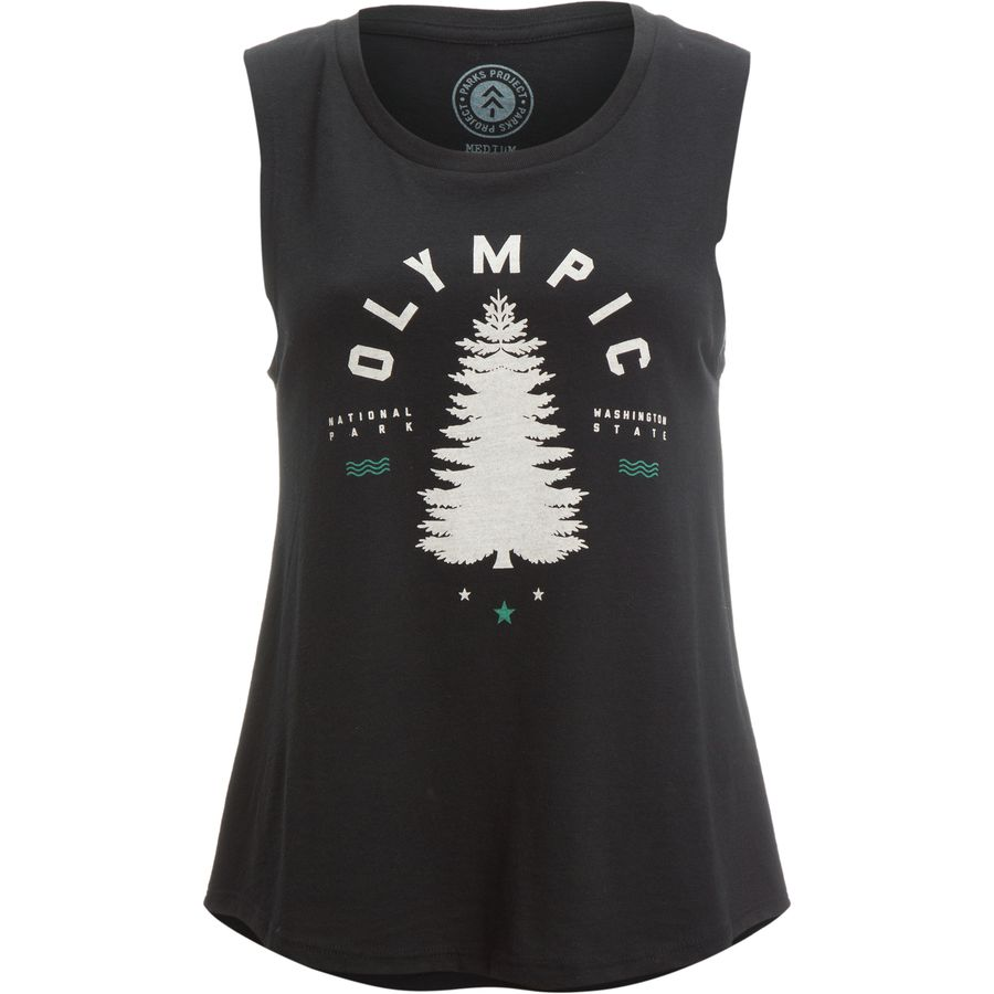 Parks Project Olympic Tree Sleeveless Tank Top - Womens