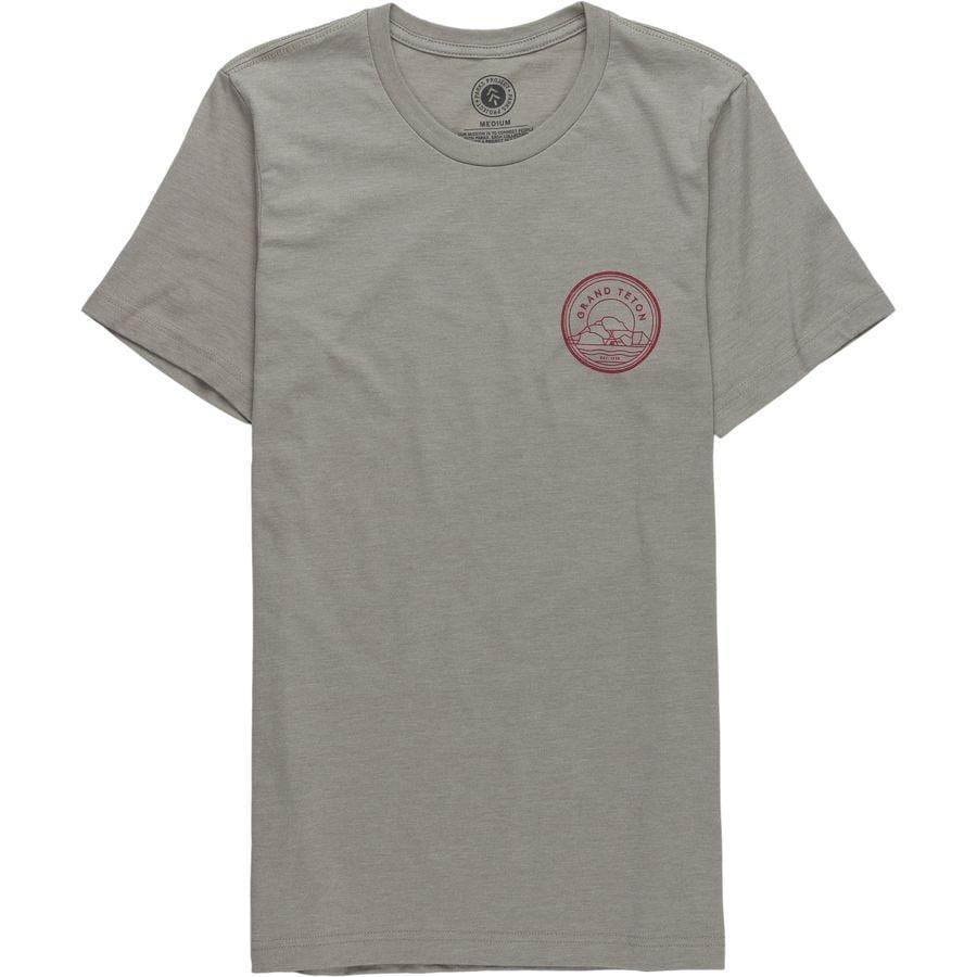 Parks Project Grand Teton Outlines T-Shirt - Mens