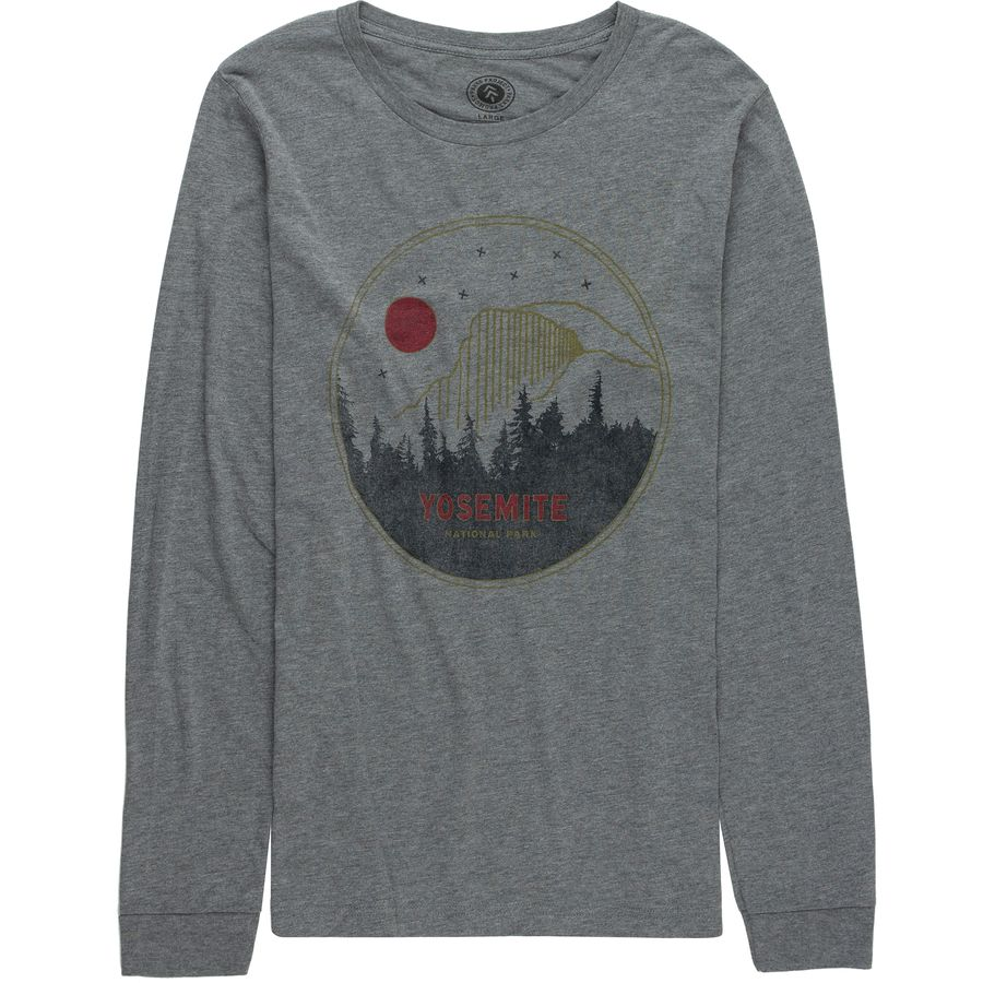 Parks Project Yosemite Mod Dome Long-Sleeve T-Shirt - Mens
