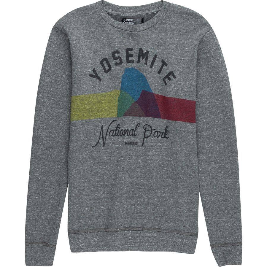 Parks Project Yosemite Color Block Crew Sweatshirt - Mens