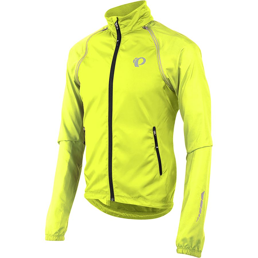 Pearl Izumi - ELITE Barrier Convertible Jacket - Men s - Screaming Yellow 8e6a2838f