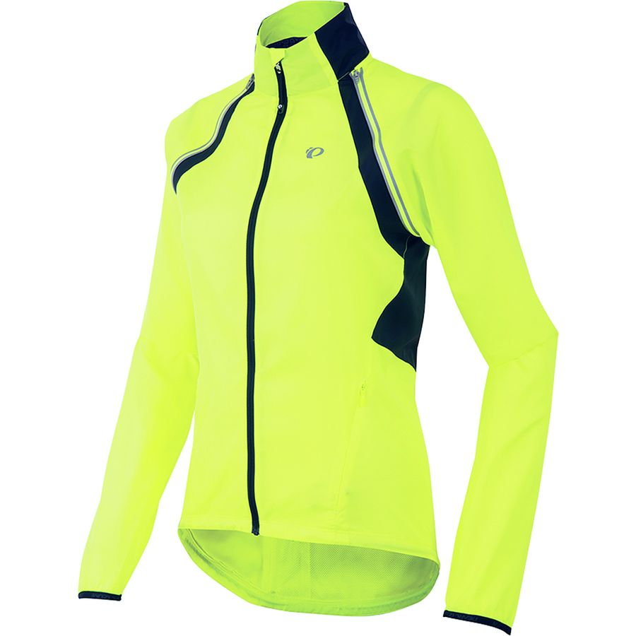 Pearl Izumi - ELITE Barrier Convertible Jacket - Women s - Screaming  Yellow Smoked Pearl 89b6a7d11
