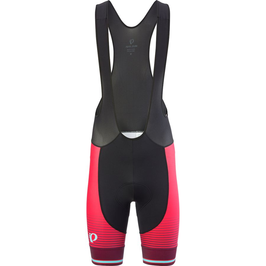 bf4b50803 Pearl Izumi - ELITE Pursuit Graphic Bib Short - Men s - Black Rogue Red  Diffuse