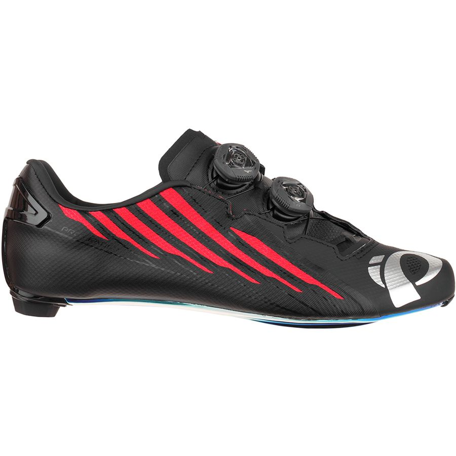 Pearl Izumi - Pro Leader V4 Limited Edition Cycling Shoe - Men s - Black Red 82c6bc247